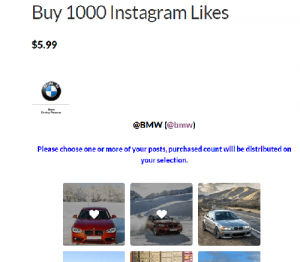 How to buy Instagram likes